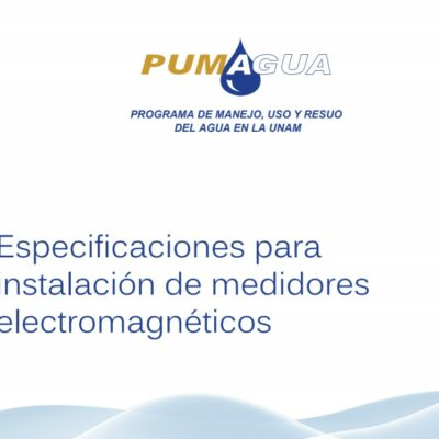 Manuales PUMAGUA para el aprovechamiento del agua